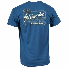 Old Guys Rule Vacation Palm T-Shirt