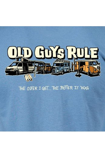 Old Guys Rule Parking Lot 2 T-Shirt