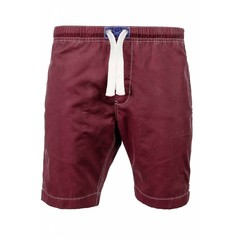 Old Guys Rule Logo Beach Short Garnet Red