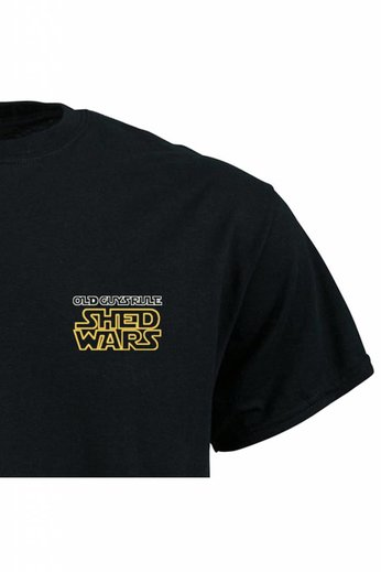 Old Guys Rule Shed Wars T-Shirt