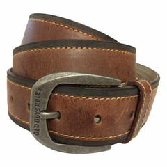 Old Guys Rule Antique Brown Belt