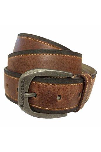 Old Guys Rule Antique Brown Belt