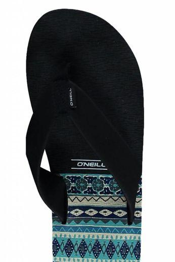 O'Neill Clothing Imprint Pattern Flip Flops