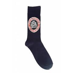Old Guys Rule Beer Label Socks