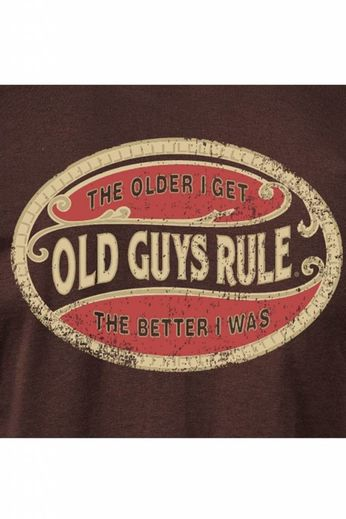 Old Guys Rule Better Oval T-Shirt