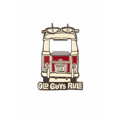 Old Guys Rule Bottle Opener Magnet