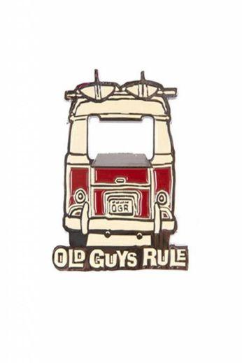 Old Guys Rule Bottle Opener Magnet