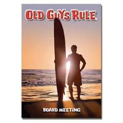 Old Guys Rule Board Meeting Card