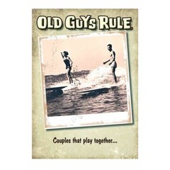 Old Guys Rule Play Together Card
