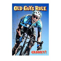 Old Guys Rule Cranky Card