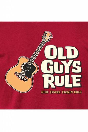 Old Guys Rule Finger Pickin' Good T-Shirt