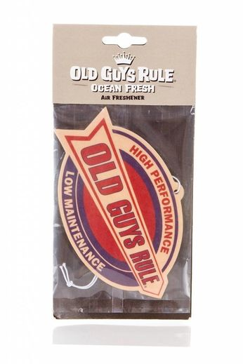 Old Guys Rule High Performance Air Freshener