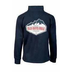 Old Guys Rule Mountain 1/4 Zip Jumper