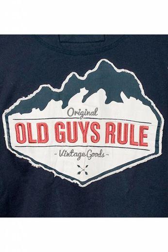 Old Guys Rule Mountain 1/4 Zip Jumper
