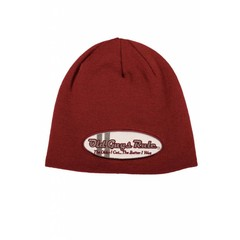 Old Guys Rule Oval Comp Beanie Garnet