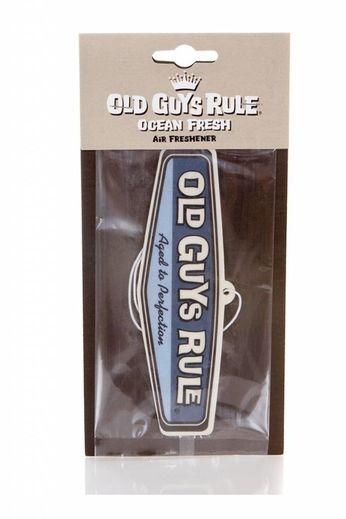 Old Guys Rule Rear View Air Freshener