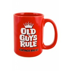 Old Guys Rule Vintage Brew Mug