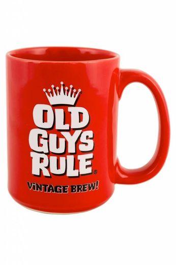 Old Guys Rule Vintage Brew Mug