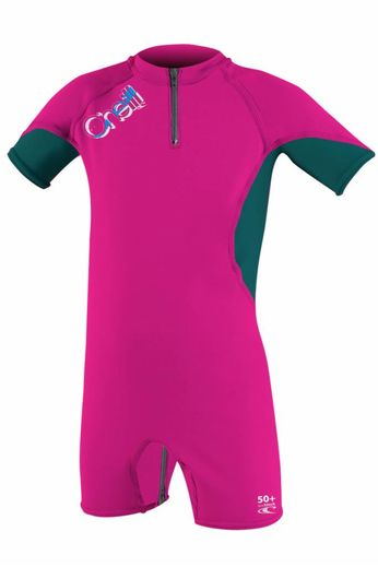 O'Neill Wetsuits O'Neill Wetsuits Girls O'Zone Spring Sunsuit Berry