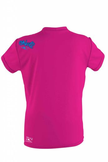 O'Neill Wetsuits O'Neill Wetsuits Toddler Rash Vest S/S Pink
