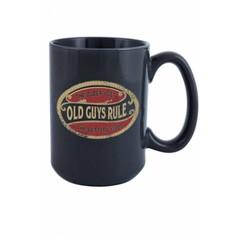Old Guys Rule Better Oval Mug