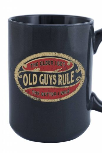 Old Guys Rule Old Guys Rule Better Oval Mug