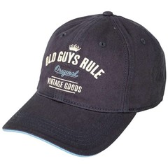 Old Guys Rule Vintage Goods Cap - Dark Denim