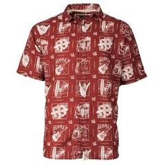Old Guys Rule Good Times S/S Shirt - Garnet