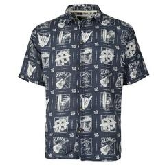 Old Guys Rule Good Times S/S Shirt - Dark Denim