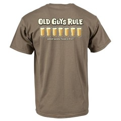 Old Guys Rule Think A Pint T-Shirt
