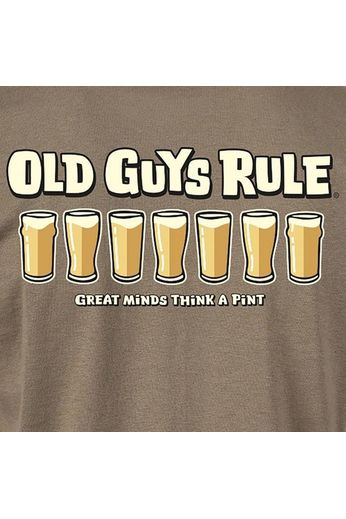 Old Guys Rule Old Guys Rule - Think A Pint T-Shirt