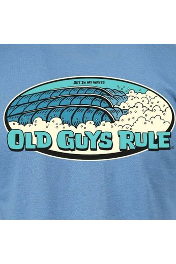 Old Guys Rule Old Guys Rule Set In My Waves T-Shirt