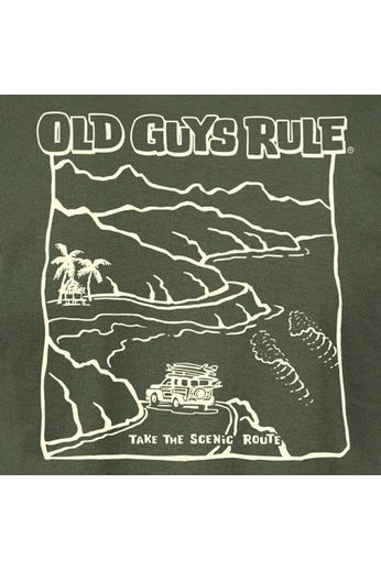 Old Guys Rule Old Guys Rule Scenic Route T-Shirt