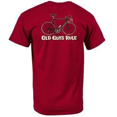 Old Guys Rule Cranky T-Shirt Red