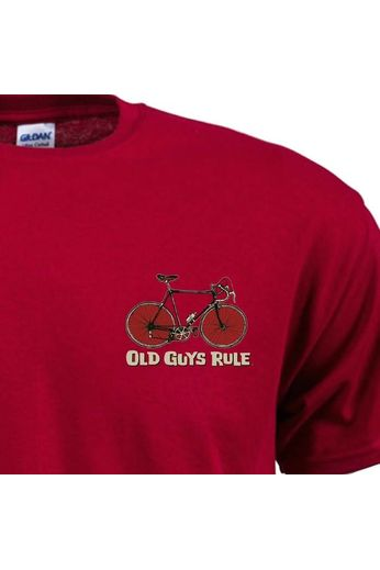 Old Guys Rule Old Guys Rule Cranky T-Shirt Red