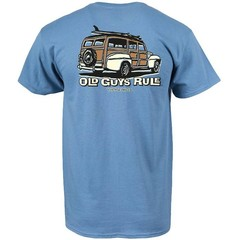 Old Guys Rule Classic Woody T-Shirt