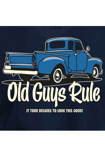 Old Guys Rule Old Guys Rule It Took Decades T-Shirt