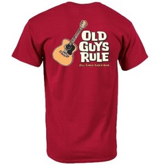 Old Guys Rule Finger Pickin' Good T-Shirt