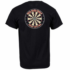 Old Guys Rule Board Meeting Darts T-Shirt