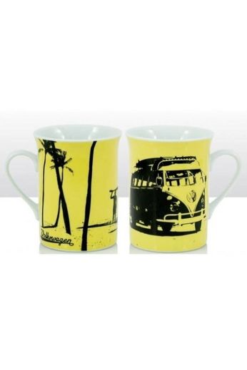 Elgate Products Surf Silhouette Yellow Mug