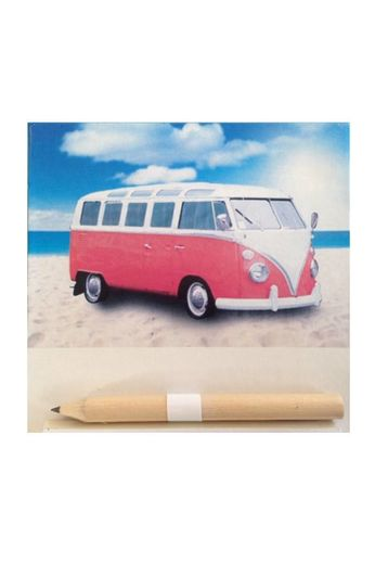 Gifts Galore Red Magnetic Notepad