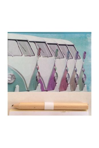 Gifts Galore Campervan Multi Magnetic Notepad