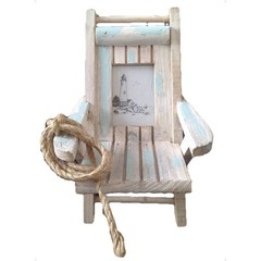 Heaven Sends Deck Chair Photo Frame