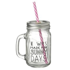Heaven Sends Sunny Days Jar Drinking Bottle