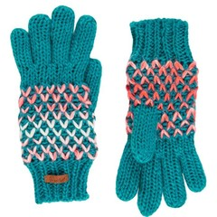 Protest Teal Green Gloves