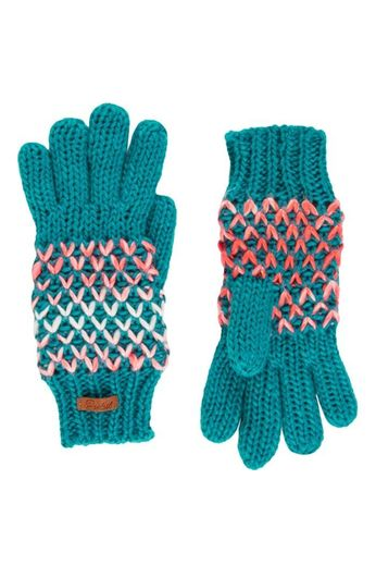 Protest Inkpen Teal Green Gloves