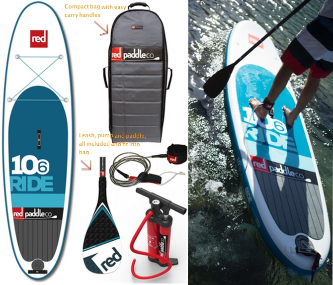 10'6 Ride SUP package