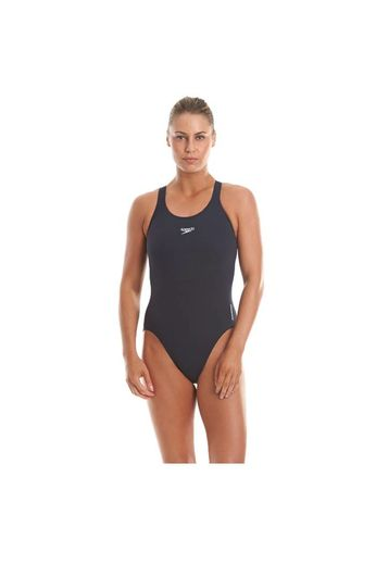 Speedo Womens Endurance Medalist Swimsuit - Navy
