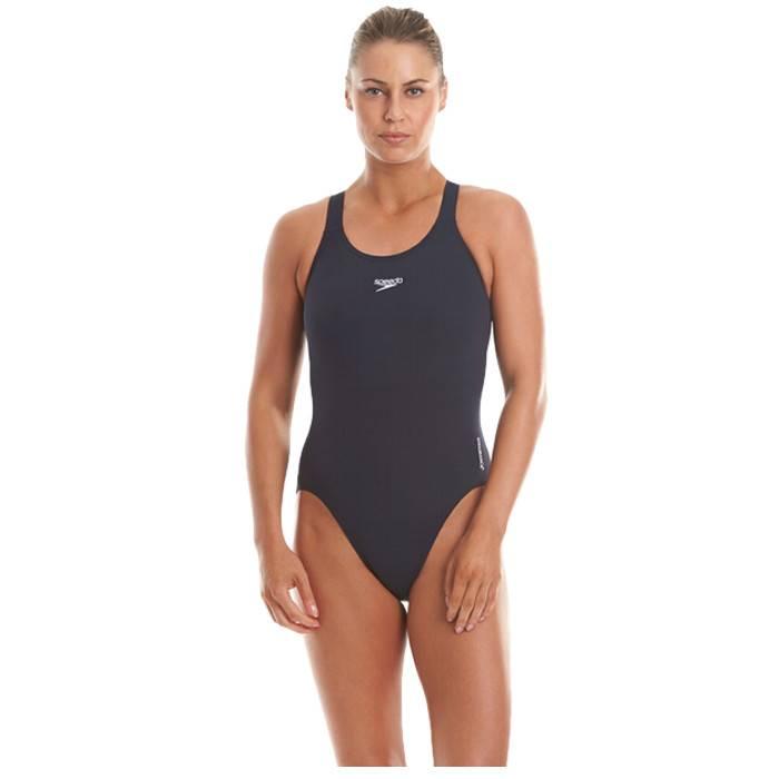 Speedo Endurance + Black Medalist Swimsuit UK 32