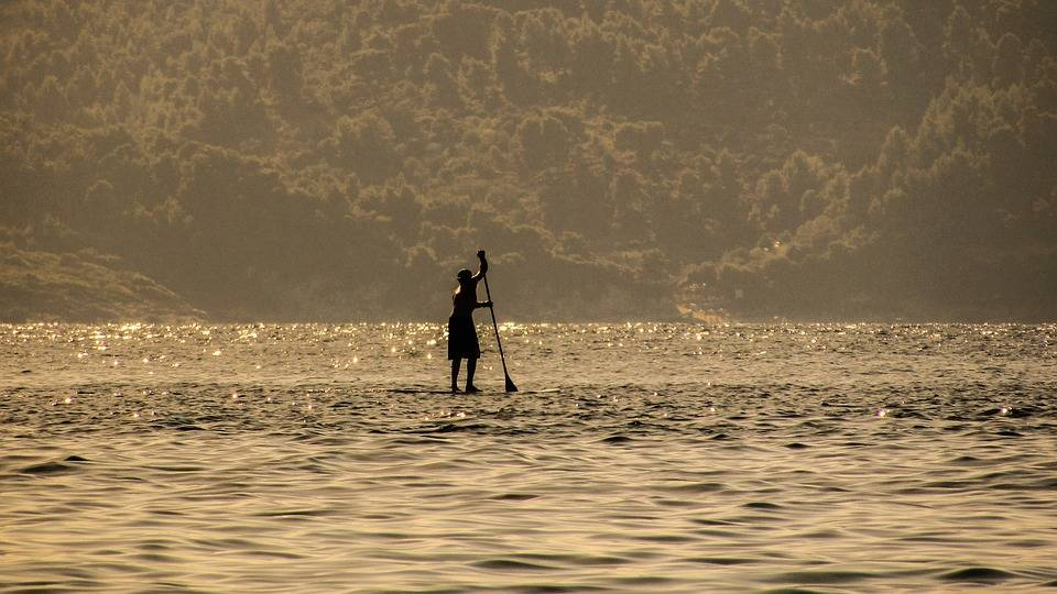 Paddle Boarding with Chris